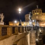 Castel sant'Angelo di notte Roma